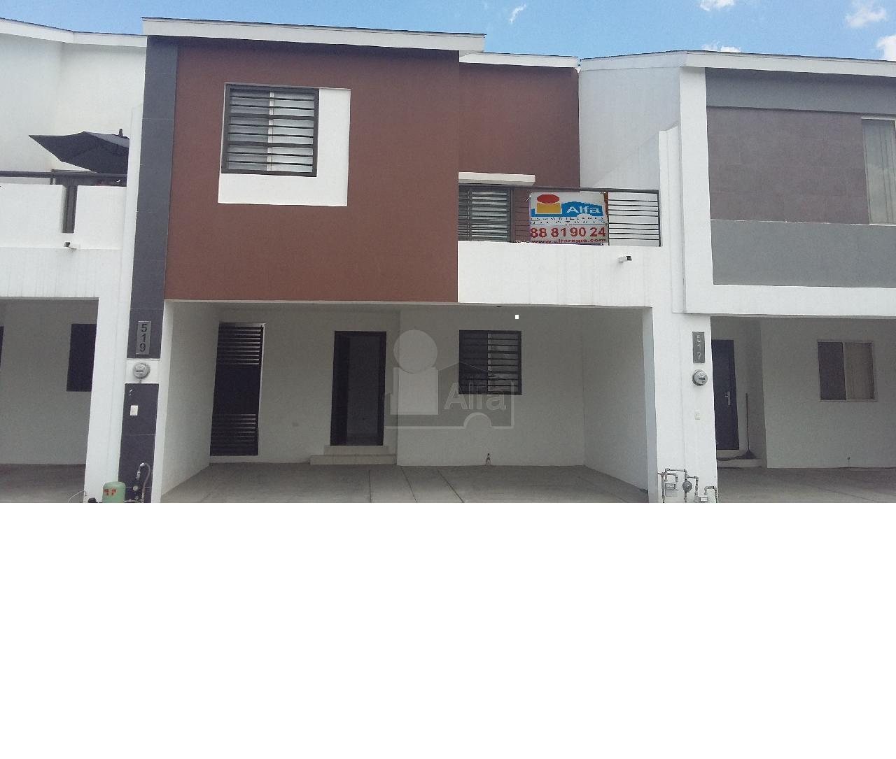 Casa en renta almer a apodaca 4 habitaciones 13k for Casas en renta en apodaca
